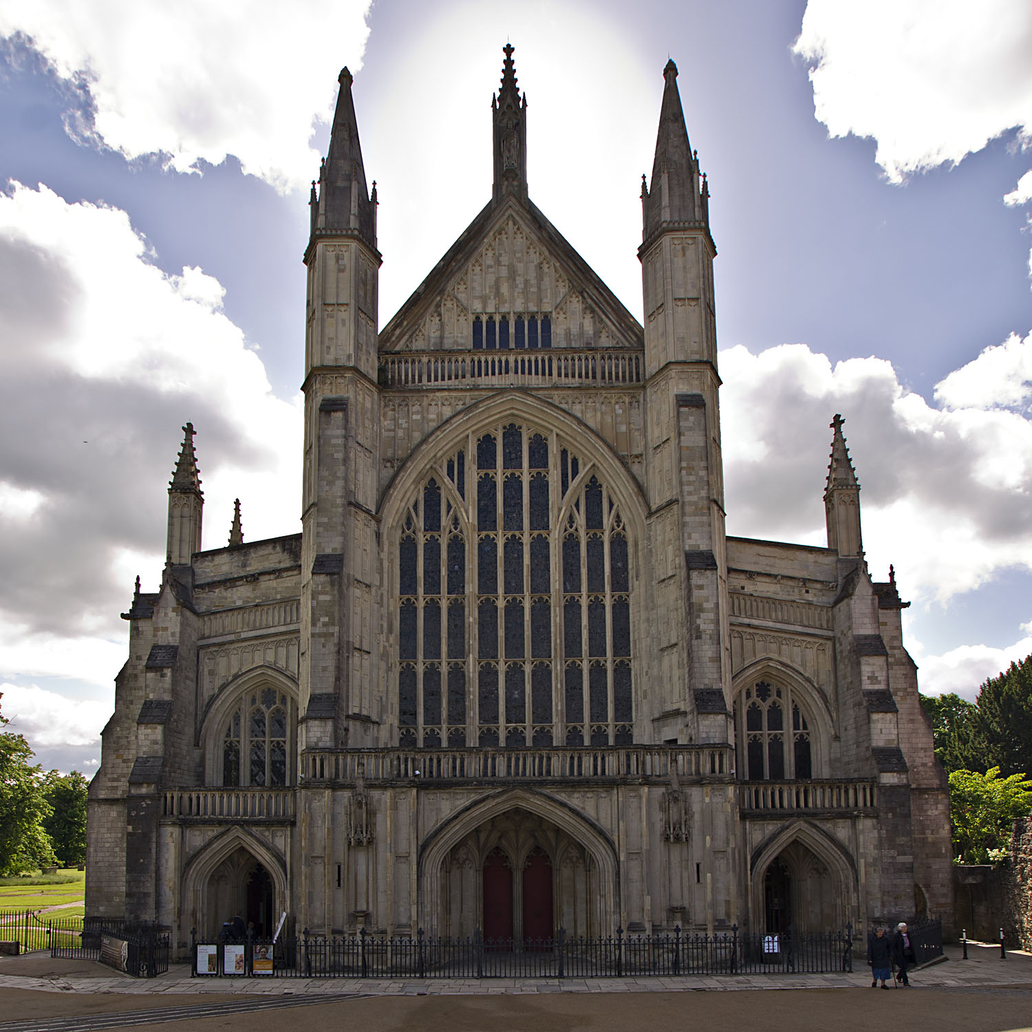 Winchester Cathedral Meanderings Abound