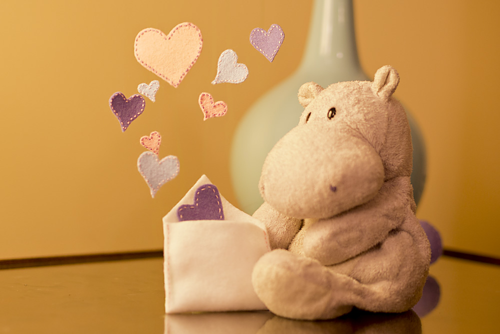 Tiny Hippo and Magical Hearts