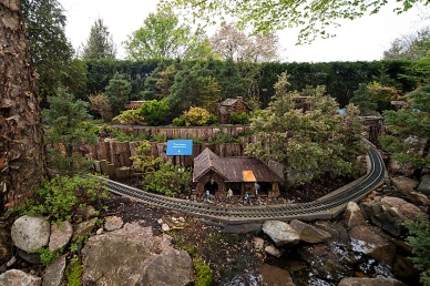 Model Railroad Garden