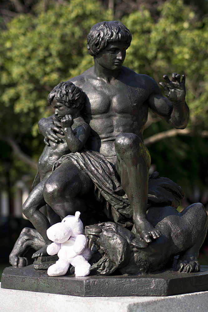 Antoine-Louis Barye Order Sculpture