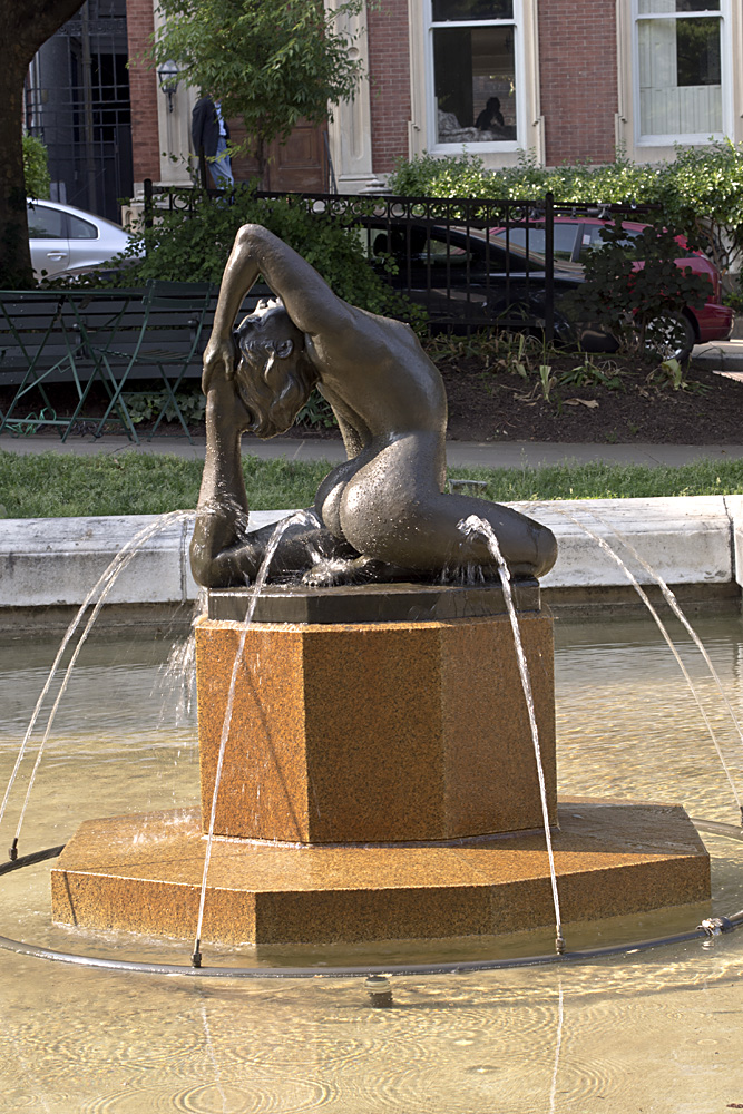 Naiad Fountain by Grace Turnbull