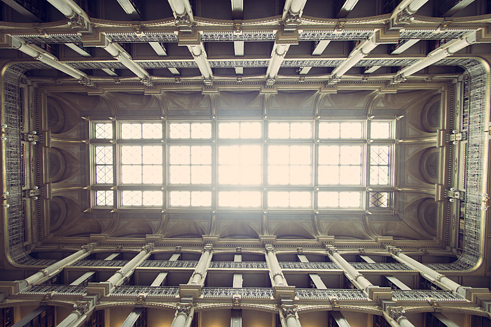 George Peabody Library Skylight