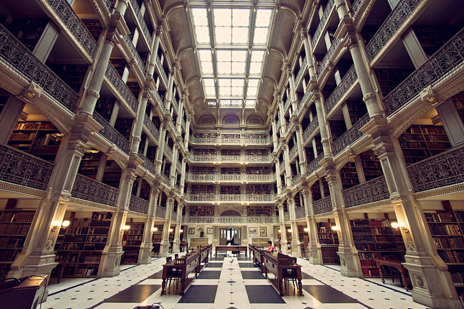 Stacks of the George Peabody Library