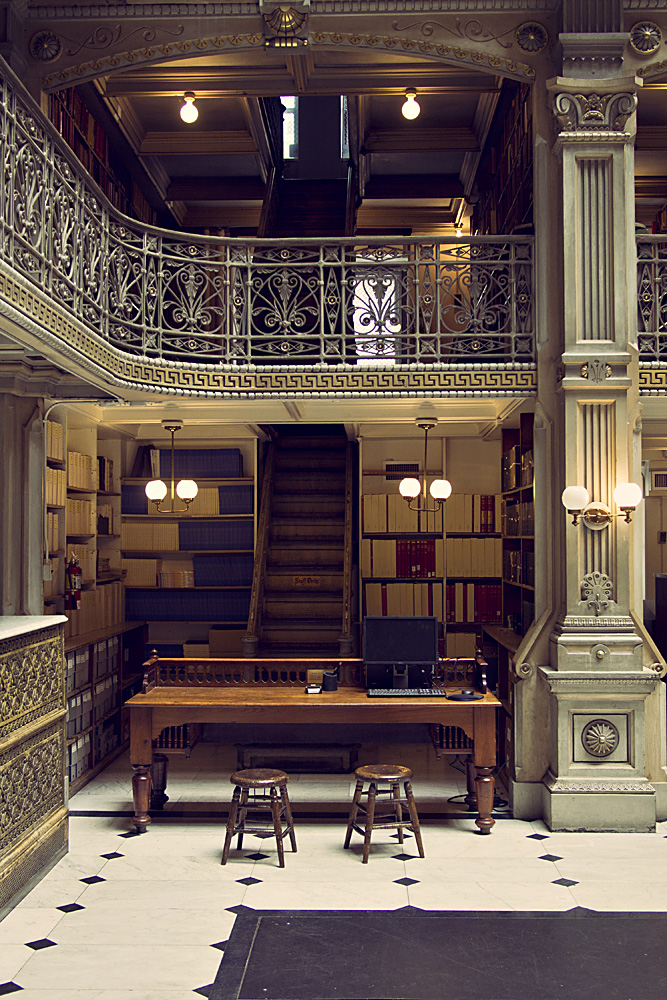 George Peabody Library Staircase