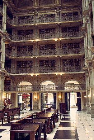 George Peabody Library Stacks