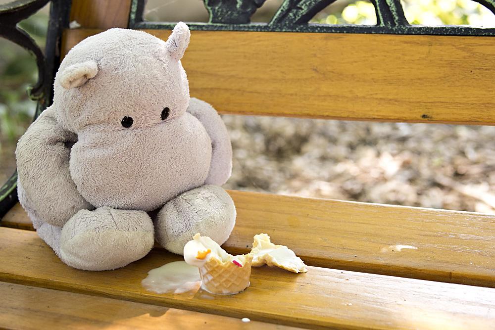Tiny Hippo Makes a Mess