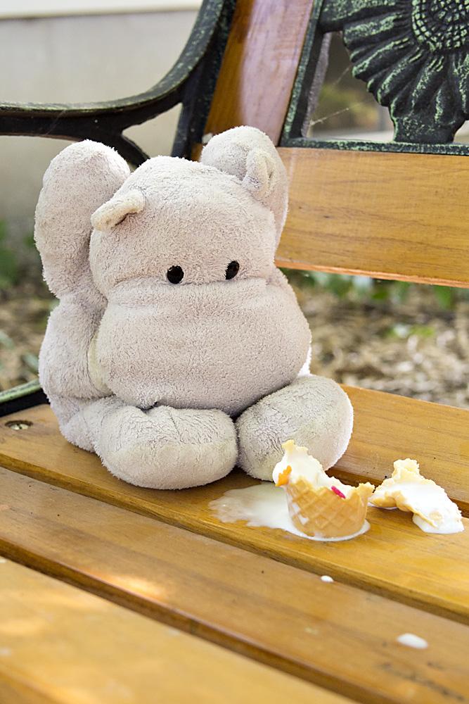 Tiny Hippo gets Brain Freeze