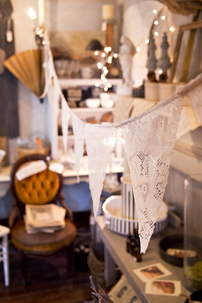 Lace Pennants
