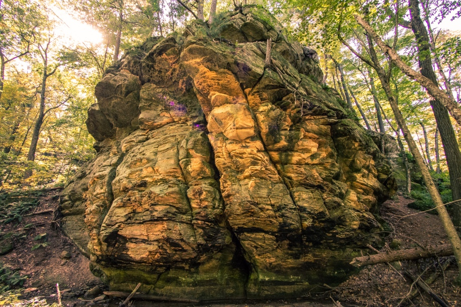 Cliff Rock at Governor Dodge State Park