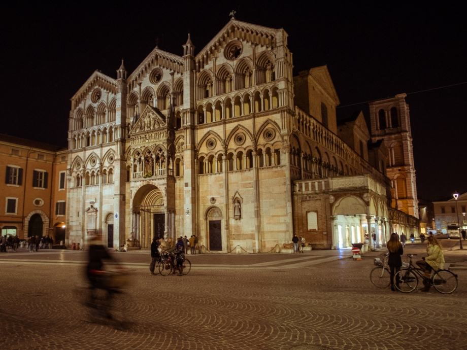 Ferrara Cathedral at Night