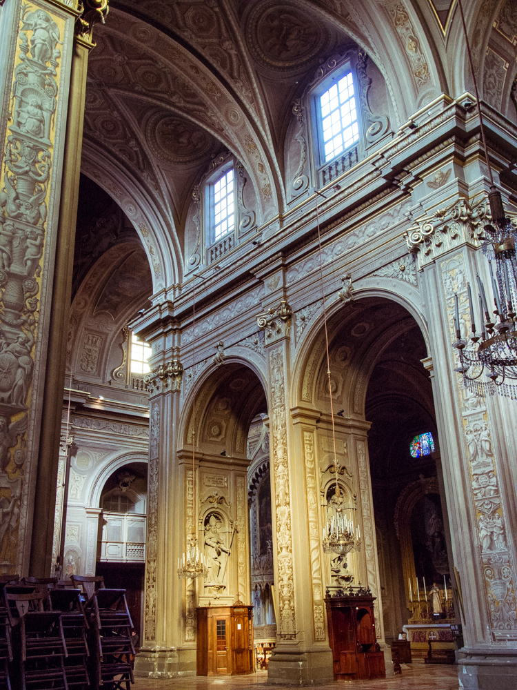 Interior of Ferrara Cathedral
