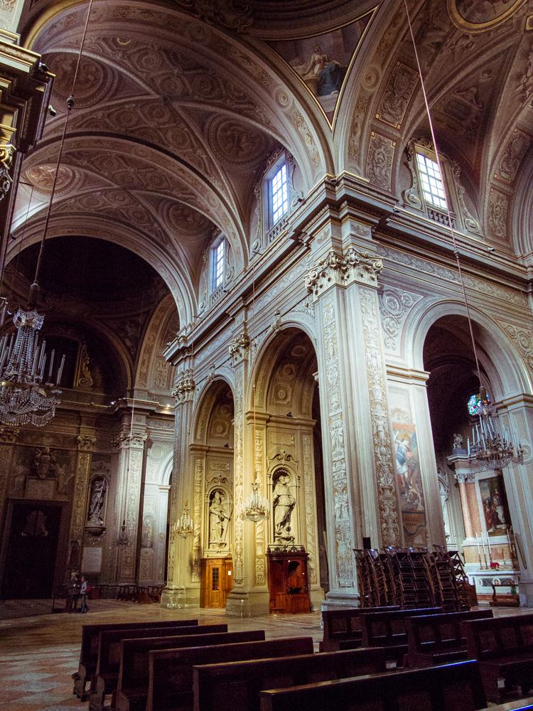 Interior of Ferrara Cathedral