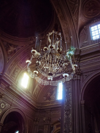 Chandelier of Ferrara Cathedral