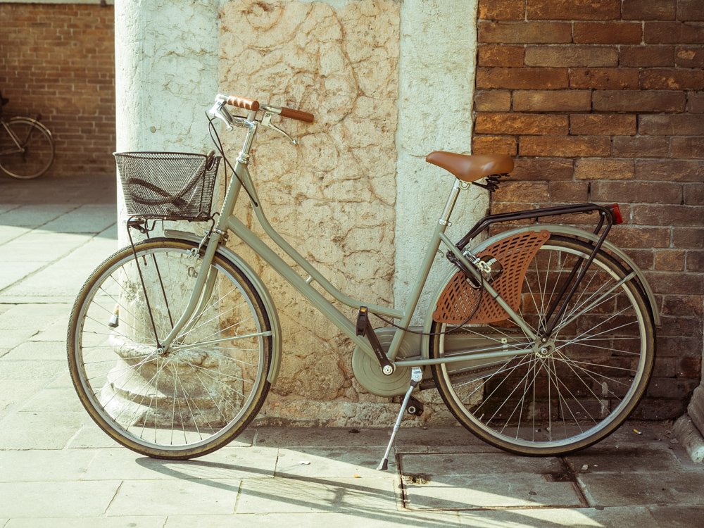 Fashionable Bike in Ferrara, Italy