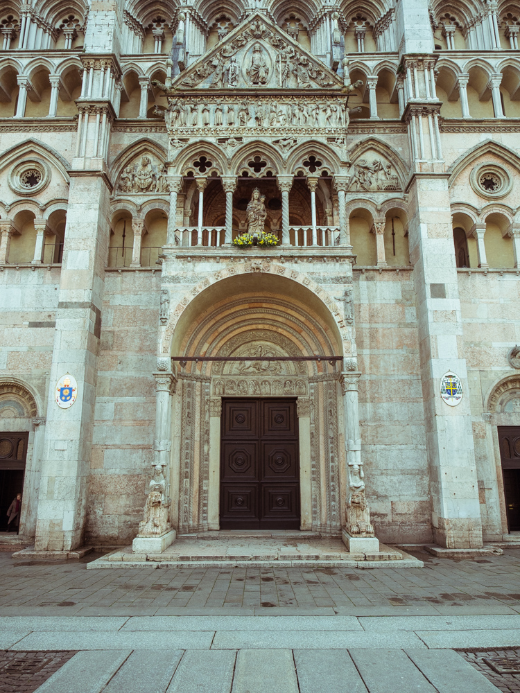 Porch of Ferrara Cathedral