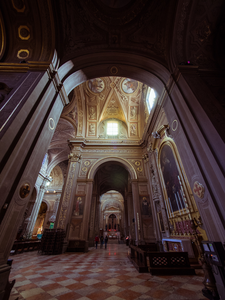 Aisle of Ferrara Cathedral