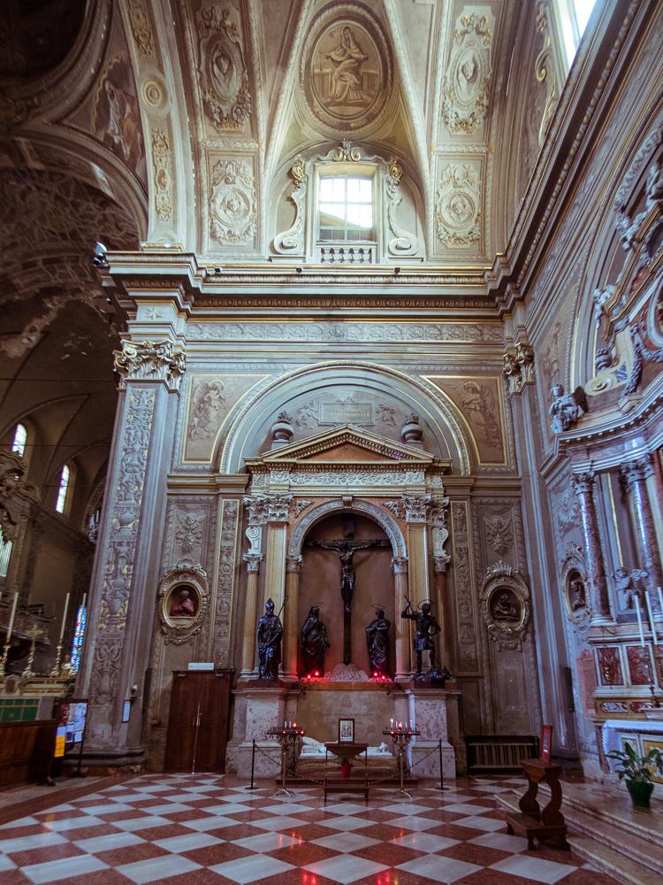 Bronze Statues Ferrara Cathedral