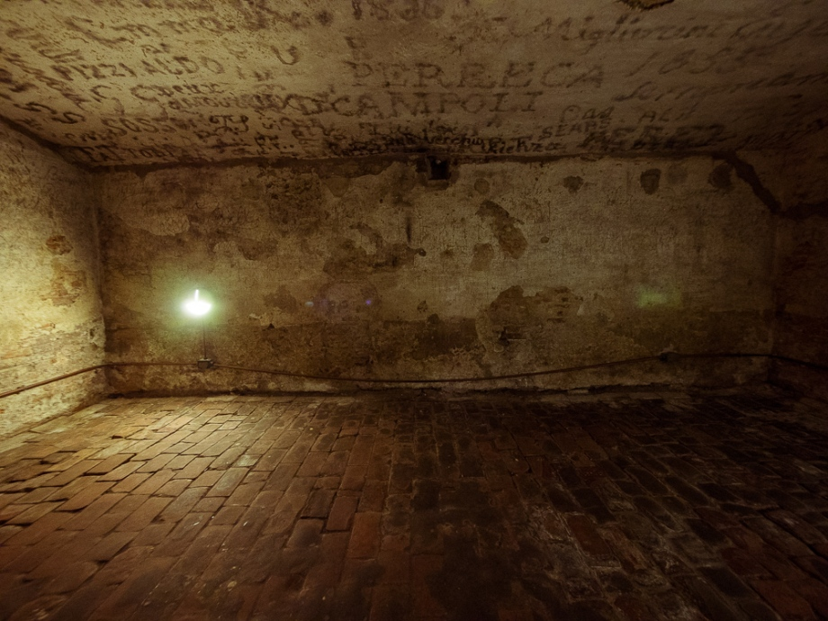 Dungeon Prison of Ugo in Ferrara, Italy