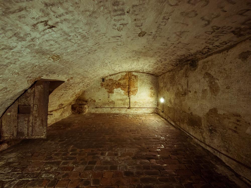 Dungeon Prison in Ferrara, Italy