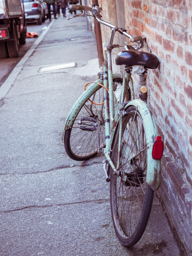 Vintage Bike in Italy