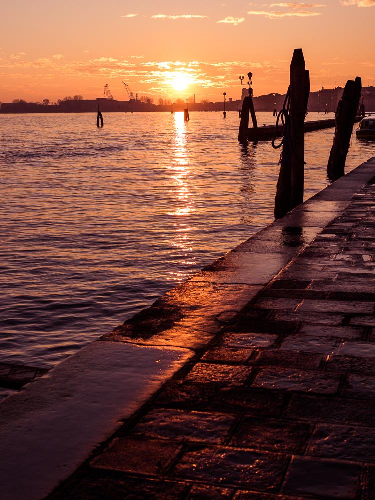 Sunrise in Northern Venice