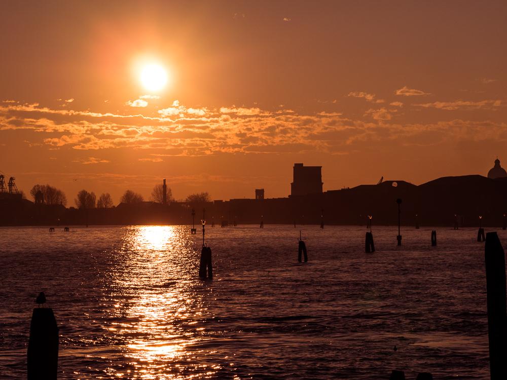 Venice Cost Sunrise