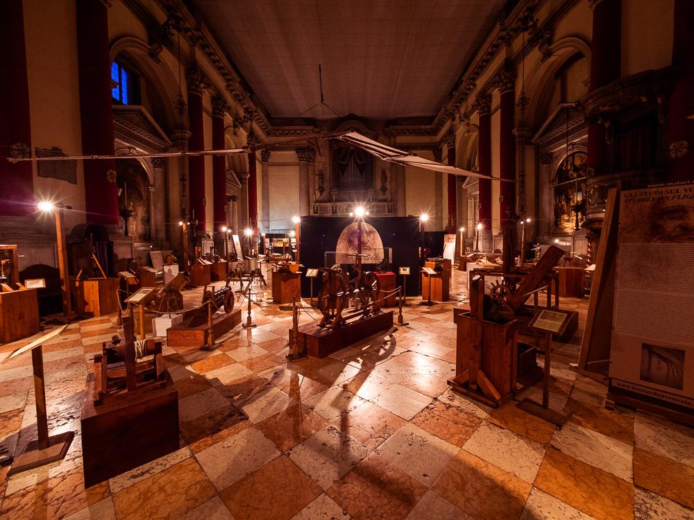 Da Vinci Exhibition Venice