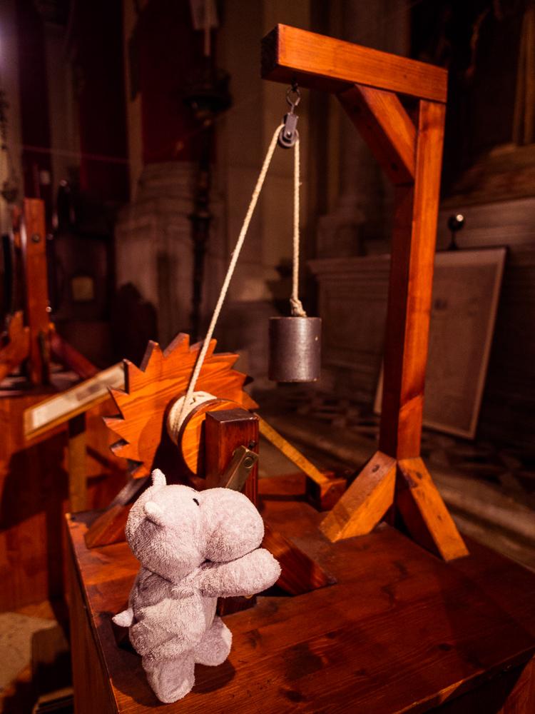 Tiny Hippo uses da Vinci Machine