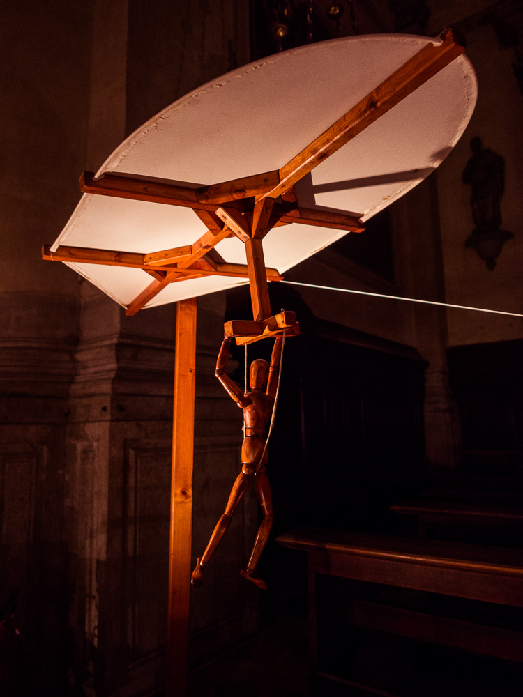 Da Vinci Hang Glider