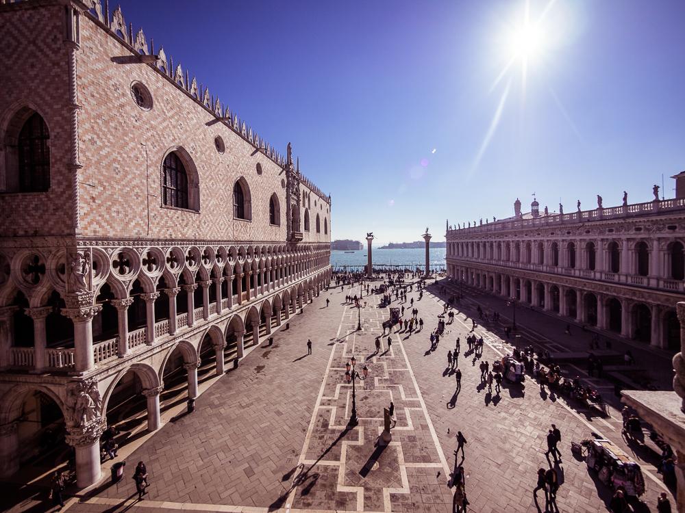 Piazzetta San Marco in Venice
