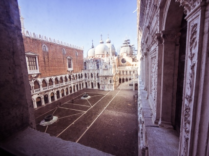 San Marco from Doge's Palace
