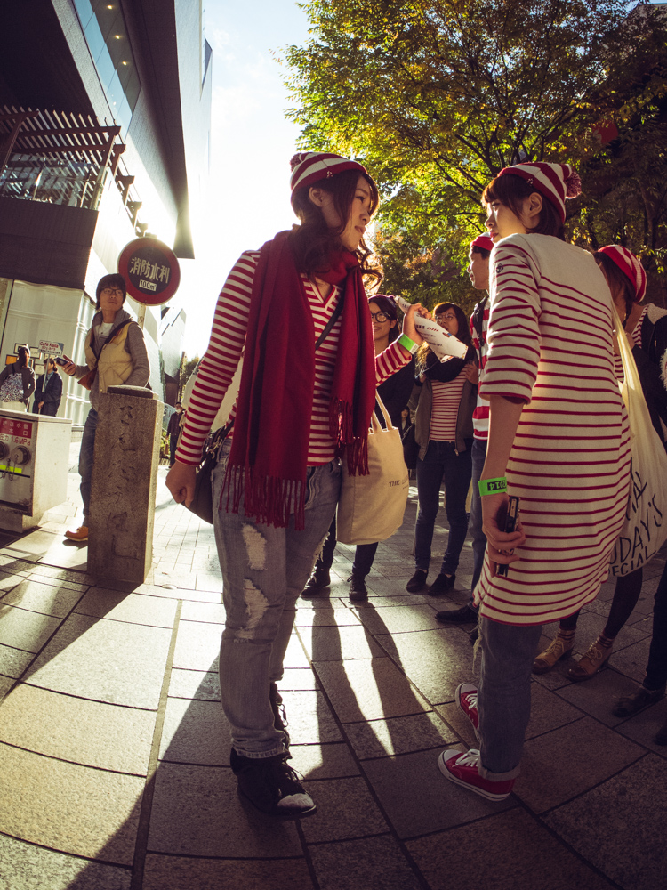 Waldos in Harajuku