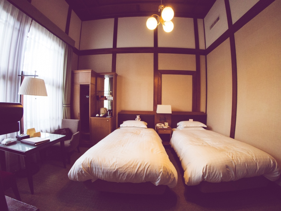 Twin Room in Nara Hotel
