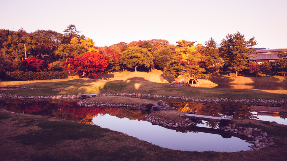 Old Daijoin Temple Garden, Nara
