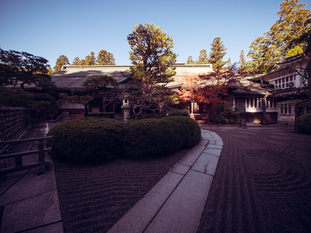 Front of Koyasan Onsen Fukuchiin