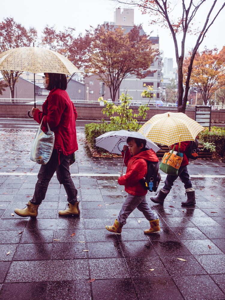 Little Ones with Umbrellas