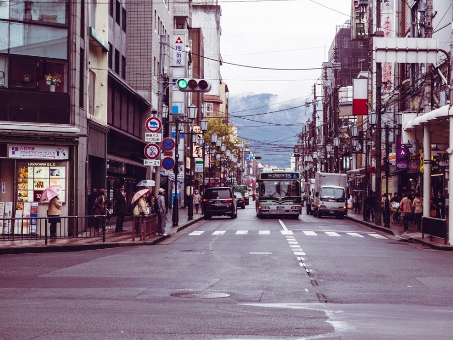 Kyoto in the Rain